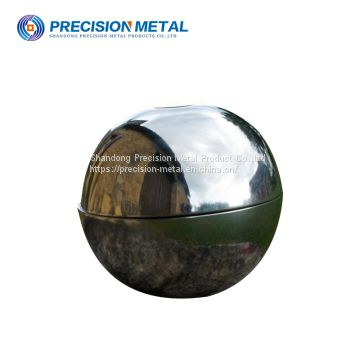 natural color 1000mm carbon steel hemisphere for fuel tank