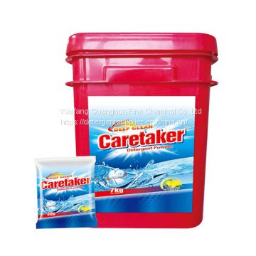 Detergent Powder with New Formula