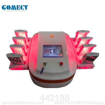 3D lipo laser 650nm+780nm+940nm fat cellulite reduce device slimming beauty machine