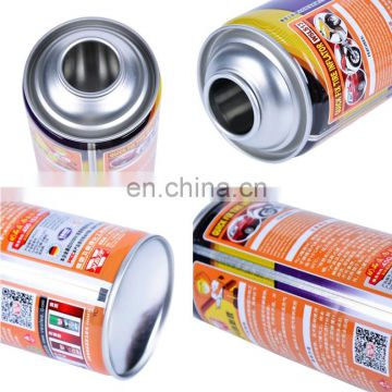 Empty Metal Aluminum Refillable Aerosol Spray Can
