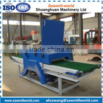 Electric Twin blade board edger machine made in Shandong China