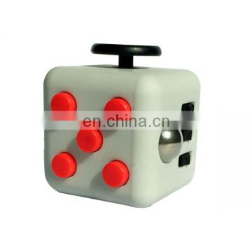 High quality plastic fidget toys hand game anti stress cube