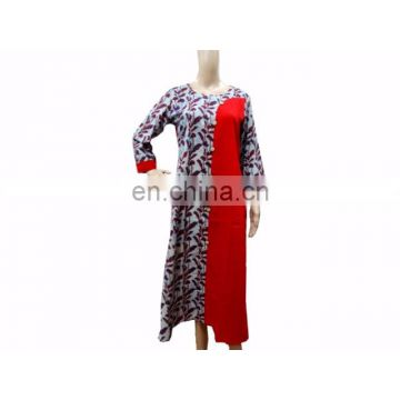 Women's Cotton Top Long TUNIC Indian Ethnic WEAR