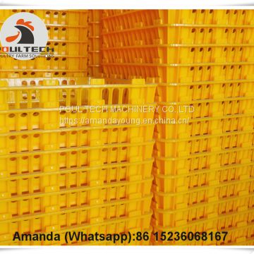 Malaysia Hot Selling Cheap Price Chicken Transport Cage Crate Coop & Plastic Transport Cage for Live Chicken for Wholesale & Plastic Carriage Cage