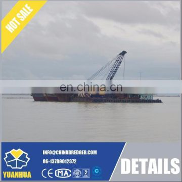 electric motor driven 80m3/h simple cutter suction dredger
