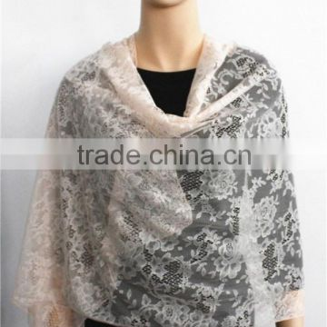 Plain Colour Lace Scarf