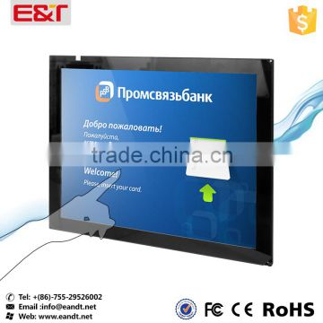 Infrared sensor touch screen for touch sensor/usb powered touch screen monitor