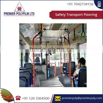 Safety Transport Flooring For the most part Utilized As Transport Ground Surface, Trains And Vehicles
