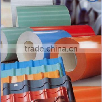 prepainted/color coated steel coil ppgi coil made in china