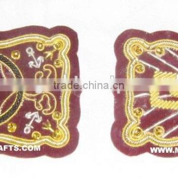 Beautiful Zari Hand Embroidery Patches