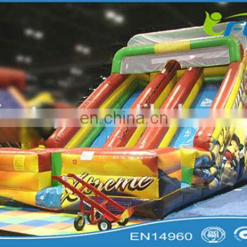 2014 Good price inflatable dry slide/commercial inflatable slide/giant inflatable slide for sale
