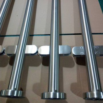 Best Quality Balcony Glass Railing with Glass Clamps Stainless Balustrade Fittings