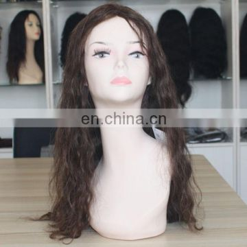 indian remy hair wig body wave machine made wig 26 inch human hair wig