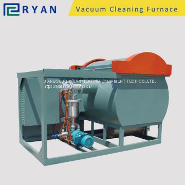 polymer cleaning furnace for clean PP/PE/PA/ABS from mold and extrusion tool