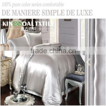 Factory supply washable 100% Pure Silk Quilt/Duvet Cover in King Size