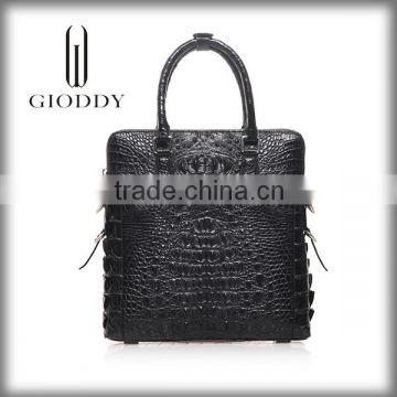 2919cd5d1b Wholesale china 100% genuine crocodile skin leather handbag hong kong ...