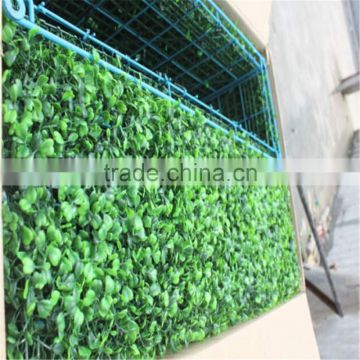 2017 Hot Sale artificial UV anti and fireproof leaf fence and boxwood hedge