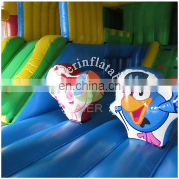 2017 newest design inflatable funland, commercial funland city for sale