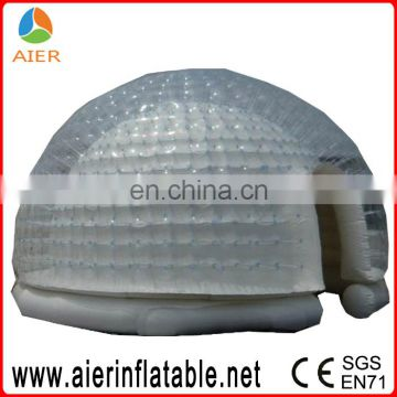 Roof top tent transparent event tent