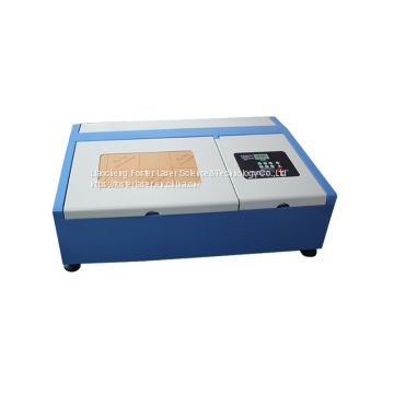 Hot sale handcraft DIY best cost performance FST430 4030 40W 50w CO2 3d photo crystal laser engraving machine price