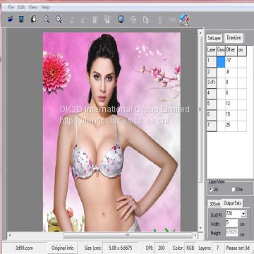 2d to 3d lenticular photoshop lenticular software free download 3d lenticular interlacing software for Windows system