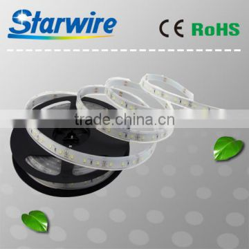 2015 hot sales DC12V dimmable 60LED per meter IP66 waterproof flexible led stripe warm white SMD 2835/5050 led strip light UL