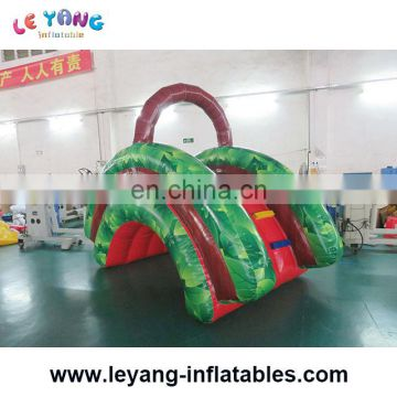 Outdoor inflatable park for commercial use / kids inflatable water park for land