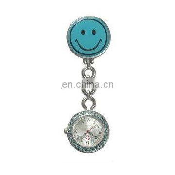 Hot sell Cute smiley face Nurse Watches