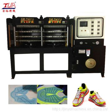 full automatic kpu sport sneaker shoes vamp moulding machine