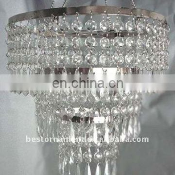 Acrylic Chandelier Centerpieces for Weddings