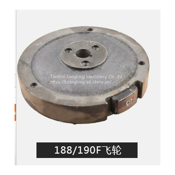 188F/182F GX390/GX340 Spare Parts Gasoline generator Electric Flywheel/5kw iron fly wheel