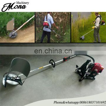 Mini small hand-held paddy wheat cutter/ mini rice combine harvester for sale