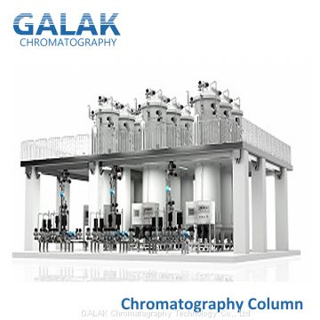 Low-Pressure Resin Liquid Chromatography Column System