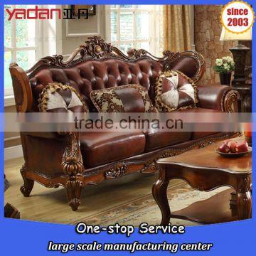 Genuine Leather Sofa Set, Carving Sofa Designs, Moroccan Sofa Set ...