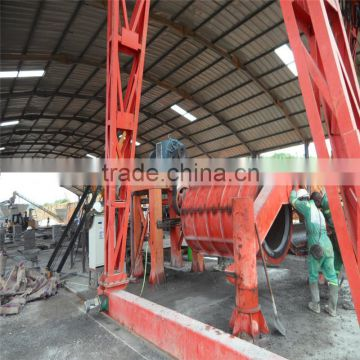 vertical vibration pipe machine cement tube making machine price