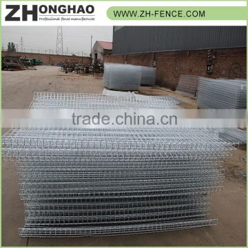 Bulk sale Factory price Professional Hot dipped galvanized welded wire mesh fence panels for sale