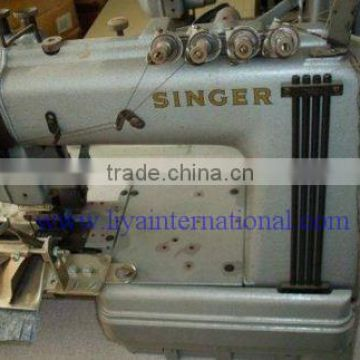 Used Second Hand Singer 400w400 40 Needle Cylinder Bed Wpuller Custom Industrial Singer Sewing Machine For Sale