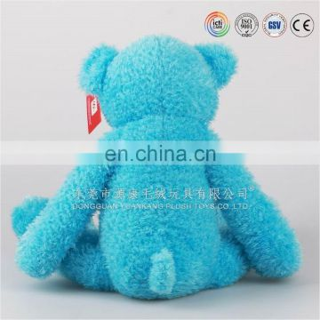 ICTI audited plush stuffed yellow bear factory china teddy