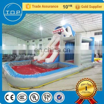 Plato bounce round big slide giant inflatable floating water park China suppliers