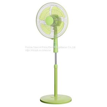 Green Color Floor Stand Fan