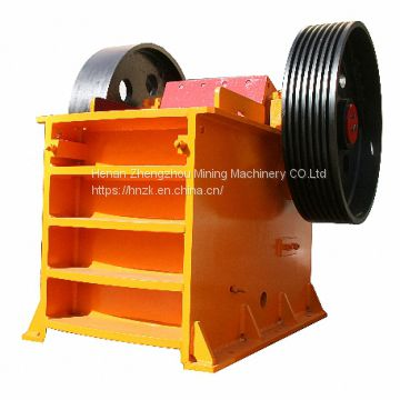 Small Used Ballast Rock Crushing Breaking Stone Jaw Crusher Machine