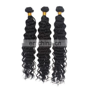 Fast delivery wholesale price human hair weave remy virgin peruvian hair deep wave style hair extensions