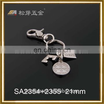 Zinc Alloy Metal Chain Hook, Leather PU Handbag Hook, High Grade Dog Hook For Clutch