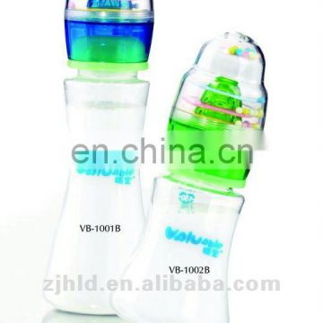 180ml music baby bottle with patent