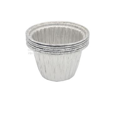 disposable aluminum foil round flan pan/plates/trays/dishes
