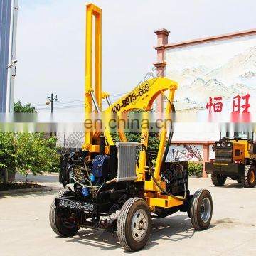 2280mm diesel power highway guardrail pile driver