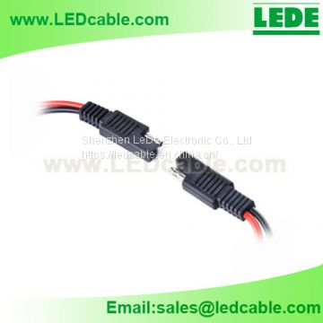 SAE Connector with Leads