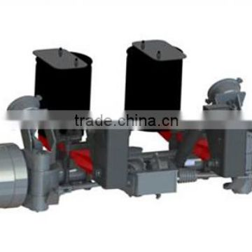 Axles trailer parts,semi-axle,double-axles,three-axles L1 manufacture china brake chamber single axle dump trailer