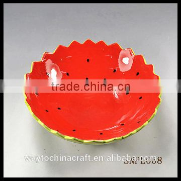 wholesale red restaurant food bowl,ceramic soup bowl,salad bowl