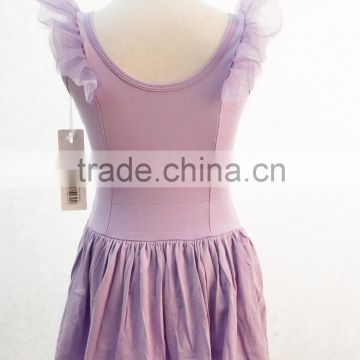 Professional pink lavender tutu skirt plain ballet dress for girls dancewear D031023